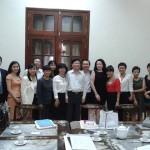 10 DN cho thuê lại lao động gặp Thứ trưởng Nguyễn Minh Huân, Bộ LĐTBXH, tháng 12/2013