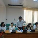 Hội thảo về Giáo trình QHLĐ tại ĐH LĐXH, tháng 6/2013