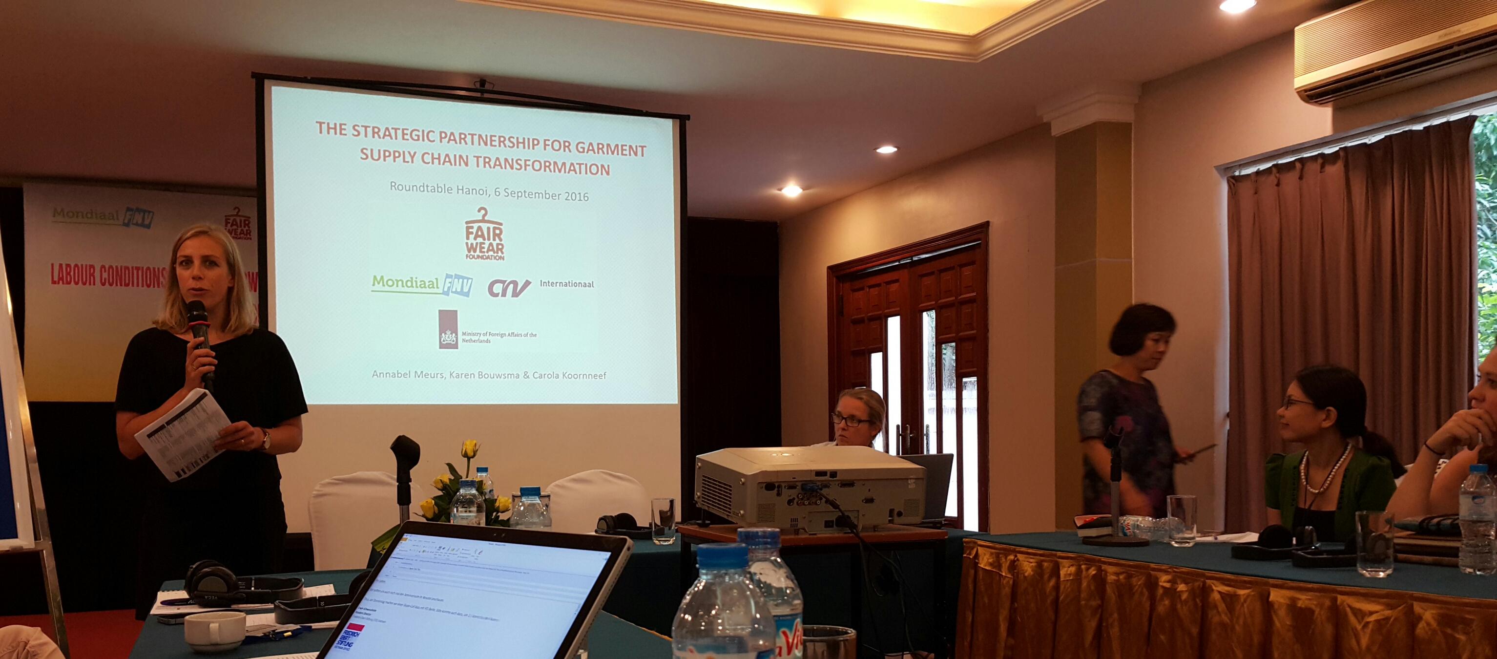 Hội thảo lấy ý kiến đối tác về Hợp tác chiến lược của FWF và CNV
